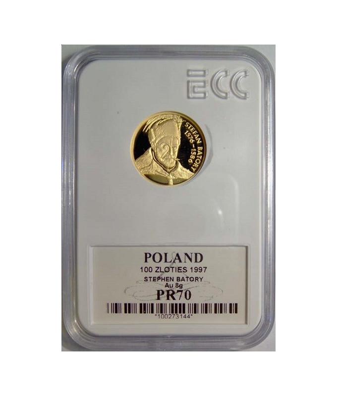 100 zł Stefan Batory 1997 GCN PR70