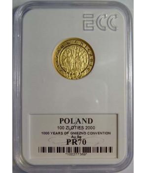 100 zł Zjazd w Gnieźnie 2000 GCN PR70