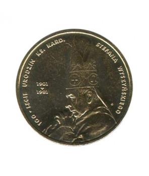 2 zł Jan III Sobieski 2001