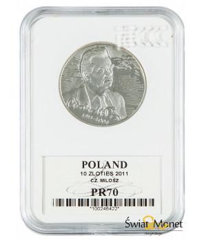 10 zł Czesław Miłosz 2011 GCN PR70