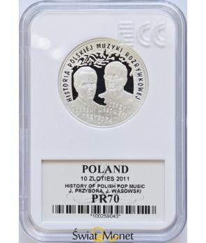 10 zł Przybora, Wasowski 2011 GCN PR70