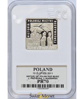 10 zł Przybora, Wasowski - klipa 2011 GCN PR70