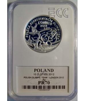 10 zł Polska Reprezentacja Olimpijska Londyn 2012 GCN PR70