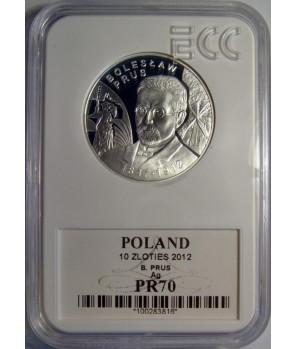 10 zl Bolesław Prus 2012 GCN PR70