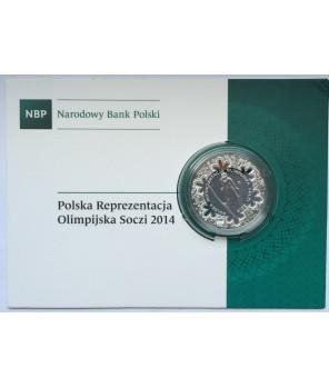 Moneta kolekcjonerska 10 zł Soczi