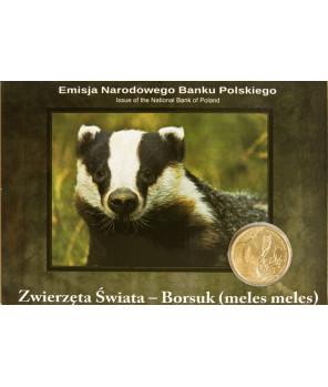 2 zł Borsuk 2011