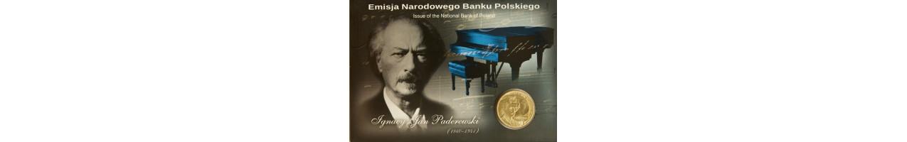 2 zł Ignacy Paderewski 2011