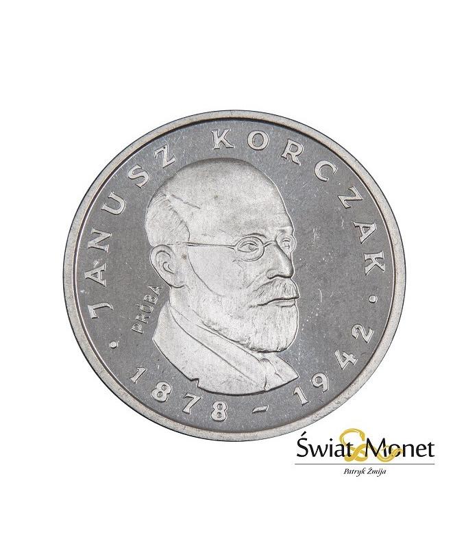100 zł Janusz Korczak 1978 próba Ag