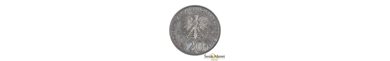 20 zł Łódź 1980 próba MN