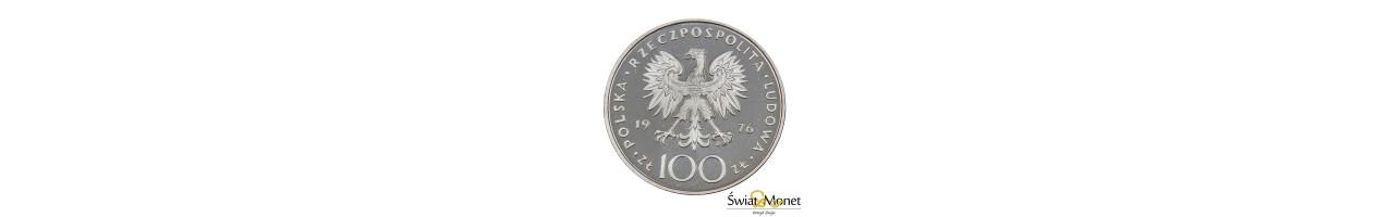 100 zł Tadeusz Kościuszko 1976 próba Ag