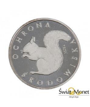 1000 zł Wiewiórka 1985 próba Ag