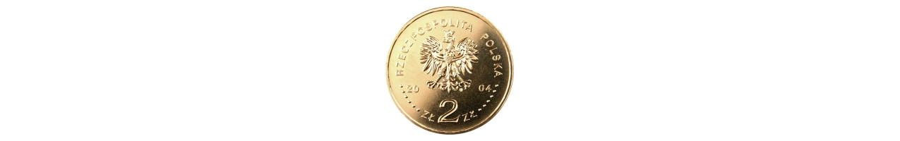 2 zł Dzieje złotego 2004