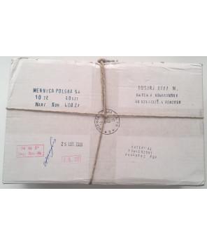 Pudełko bankowe 40 sztuk x 10 zł Husarz 2009