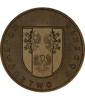 2 zł Województwo Lubuskie 2004