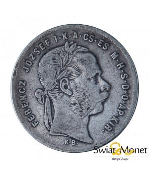 Węgry 1 forint 1871 Franiciszek Józef