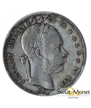 Węgry 1 forint 1881 Franiciszek Józef