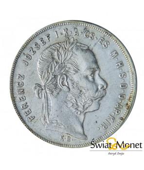 Węgry 1 forint 1879 Franiciszek Józef