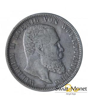 2 marki 1903 Wilhelm II Niemcy Wittembergia