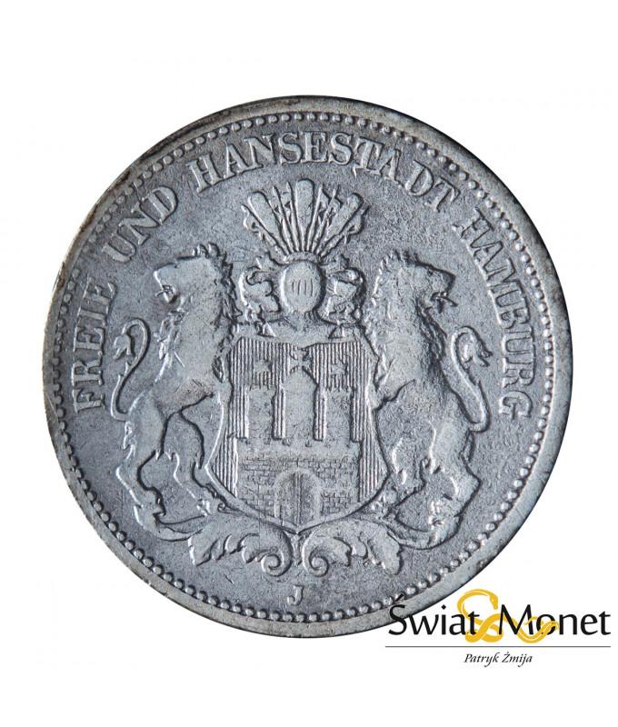 2 marki 1878 Niemcy Hamburg