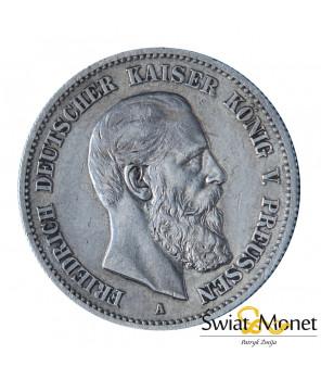 2 marki 1888 Niemcy Prusy