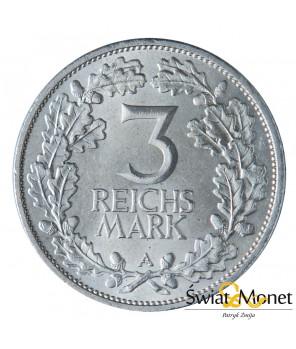 3 marki 1925 A Rheinlande st. I Weimar  Niemcy