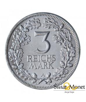 3 marki 1925 A Rheinlande st. -I Weimar  Niemcy (2)