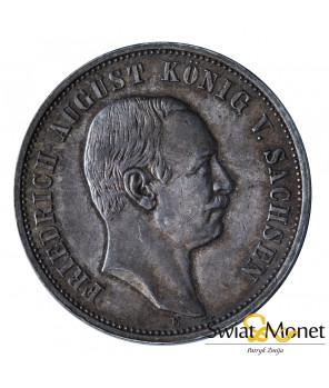3 marki 1913 E Fryderyk  Saksonia Niemcy