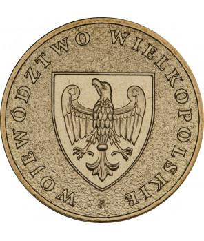 2 zł Województwo Warmińsko-mazurskie 2005