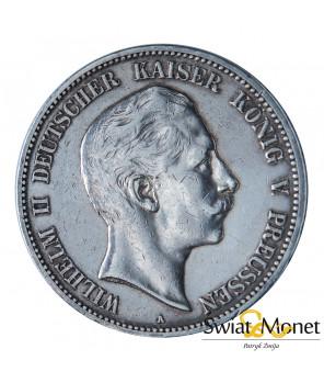 5 marek 1904 Wilhelm II Prusy