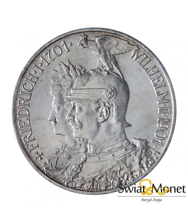 5 marek 1901 Wilhelm II 200 lat dynastii Prusy