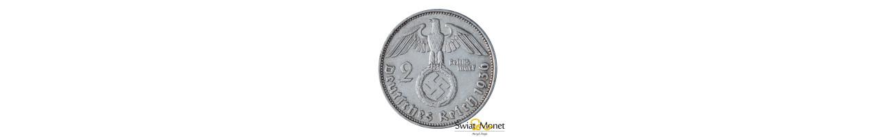 2 marki Hindenburg 1936 D Niemcy