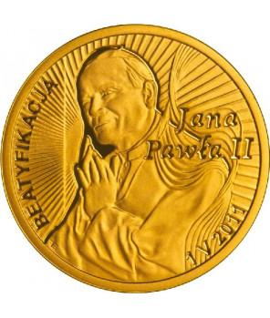 100 zł Beatyfikacja Jana Pawła II 2011