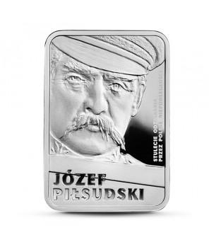 10 zł Józef Piłsudski - Stulecie odzyskania przez Polskę niepodległości 2015