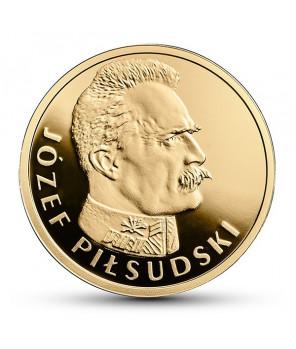 100 zł Józef Piłsudski - Stulecie odzyskania przez Polskę niepodległości 2015
