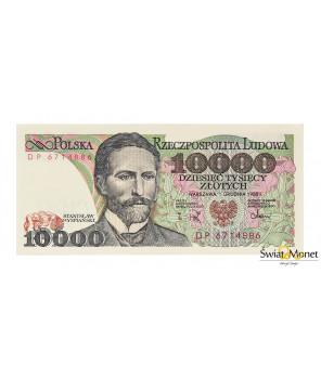 10 000 zł Stanisław Wyspiański 1988 seria DP UNC