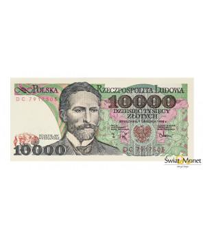 10 000 zł Stanisław Wyspiański 1988 seria DC UNC