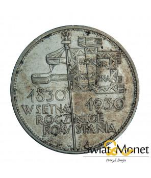 5 zł Sztandar 1930 st. +II
