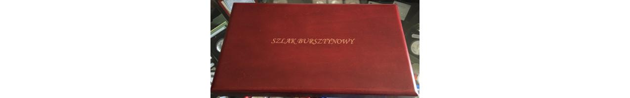 NIUE KOMPLET 8 x 1 $ SZLAK BURSZTYNOWY 2008-2011