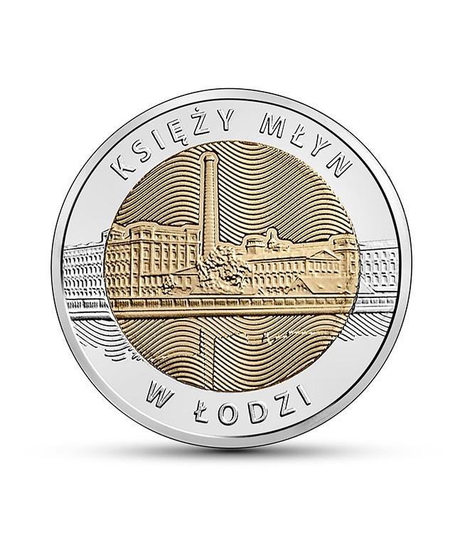 5 zł Księży Młyn w Łodzi 2016