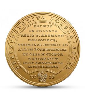 500 zł Skarby Stanisława Augusta – Bolesław Chrobry 2013