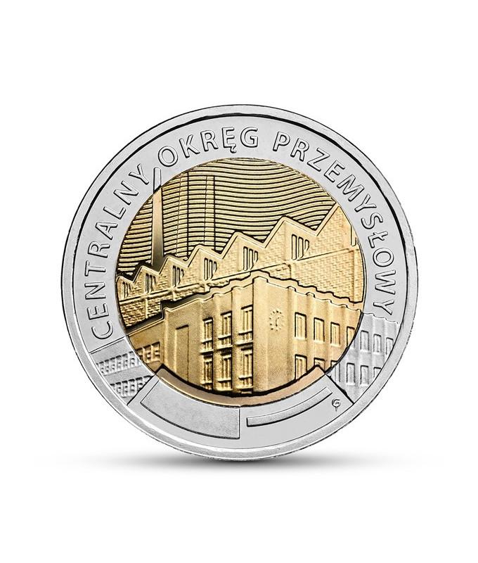 5 zł Centralny Okręg Przemysłowy 2017