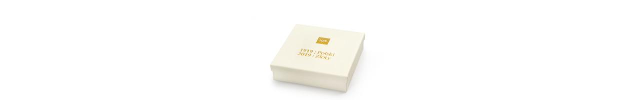 100 lat złotego - zestaw złotych monet