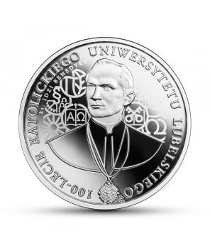 10 zł 2019 100-lecie Katolickiego Uniwersytetu Lubelskiego