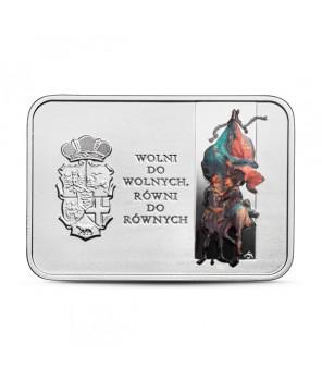 Moneta 20 zł 450. rocznica Unii Lubelskiej