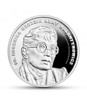 Moneta 10 zł 90. rocznica urodzin Anny Walentynowicz
