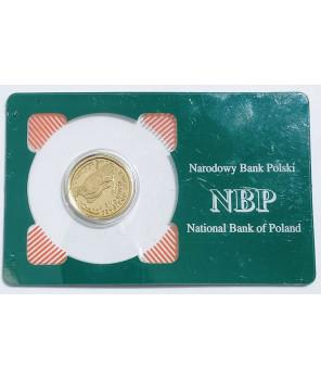 Złota moneta Orzeł Bielik 50 zł 2000
