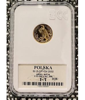 Orzeł Bielik 50 zł 2002