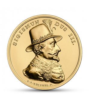 Złota moneta 500 zł SSA Zygmunt III Waza
