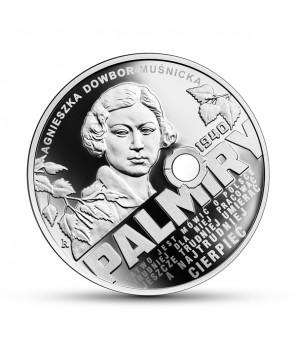 Moneta 10 zł Katyń - Palmiry 1940