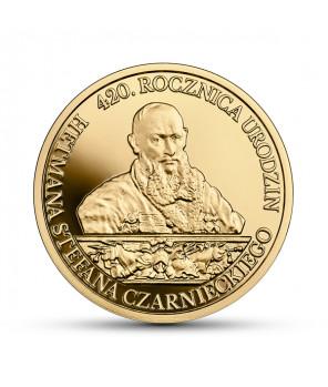 Złota moneta 200 zł Stefan Czarniecki